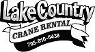 Lake Country Crane Rental